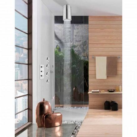 Kreu i dusheve Bossini Dinamic-Inox nga, me dekorimet Swarovski