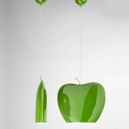 Pezullimi në Qeramikë të Apple Design - Frutat Aldo Bernardi