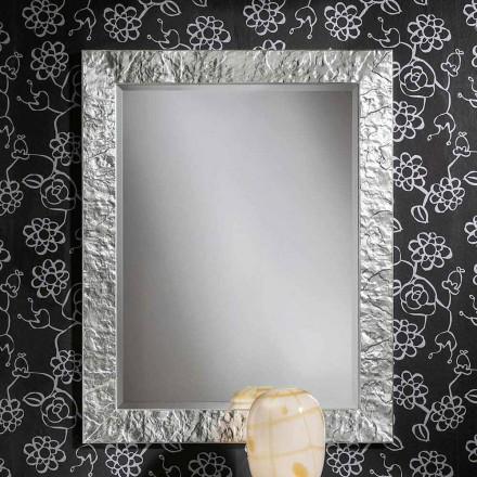 Pasqyrë e murit të punuar me dorë prej ari prej ari, prodhuar në Itali, Antonio