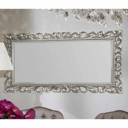Pasqyra moderne e punuar me dorë nga druri, prodhuar në Itali, Mattia