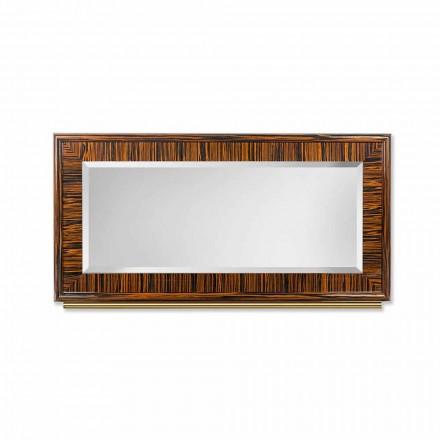 Pasqyra e murit Ada 1, e bërë me shkëlqim dhe shkëlqim metalik, me skaje të befta