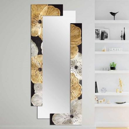 Designer Wall Mirror Daiano nga Viadurini Decor, e bërë në Itali
