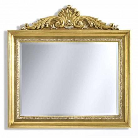 Pasqyra e murit në rrëshirë rrëshirë dhe druri, të punuar me dorë në Itali, Ivan