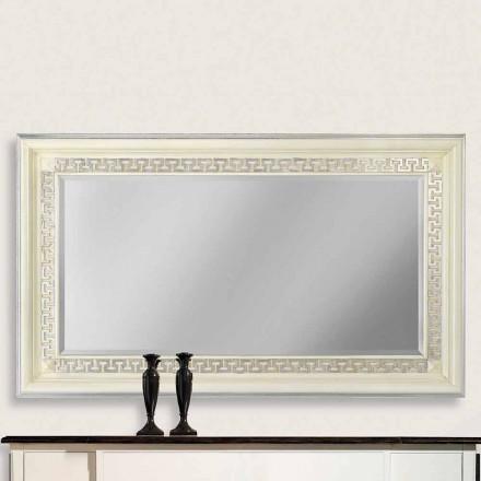 Pasqyra e murit e bërë nga druri ayous, i prodhuar plotësisht në Itali, Maicol