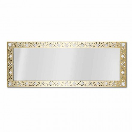 Pasqyrë muri në Plexiglas prej ari, argjendi ose bronzi me kornizë - nektar