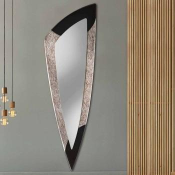 Pasqyrë murale moderne në fletë argjendi të bërë në Itali Urbino