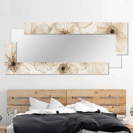 Designer Wall Mirror Sacile nga Viadurini Decor, e bërë në Itali