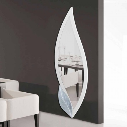 Pasqyrë në formë petale, dizajn modern