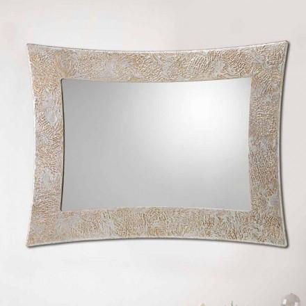 Pasqyra e murit Venezia nga Viadurini Decor, e bërë në Itali