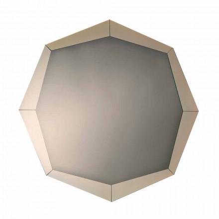 Pasqyra e Dizajnit në Finish Crystal Pasqyruar Prodhuar në Itali - Bolina