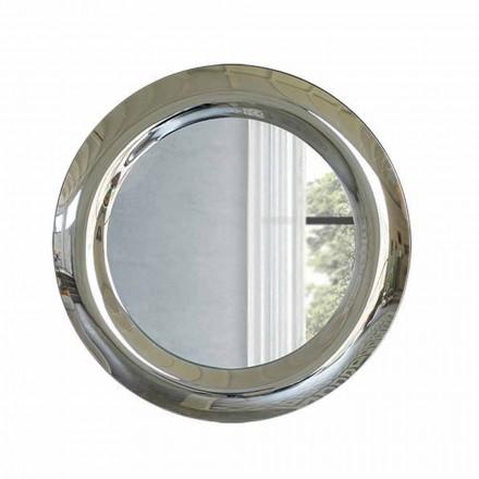 Pasqyrë e madhe në mur në fund të kristalit Prodhuar në Itali - Stilla