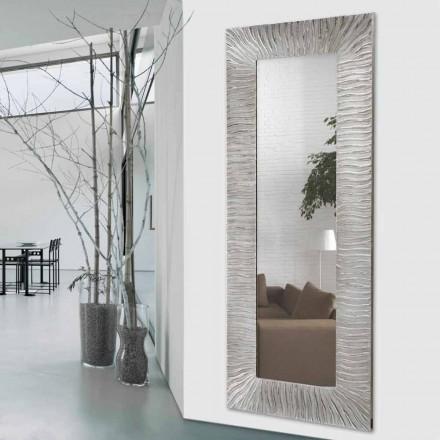 Pasqyra e murit Onde nga Viadurini Decor, e bërë në Itali