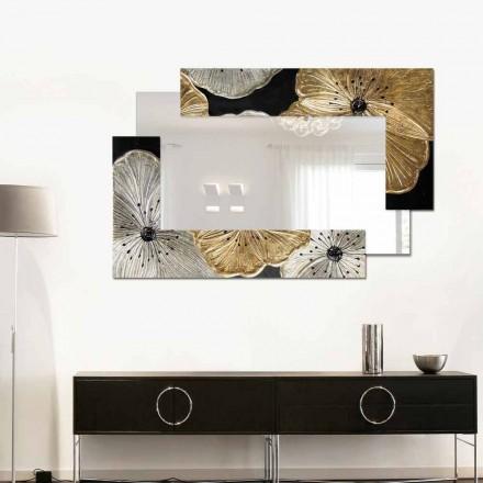 Modeluesi Pasqyrë në murin e vogël Petunia Oro Scomposta