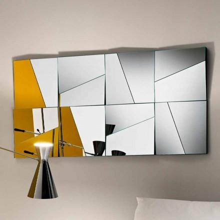 Pasqyra modulare e murit me pasqyra konkave dhe konveks të bëra në Itali - Allegria