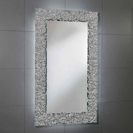 Pasqyrë banjoje Cecilia me kornizë xhami, dizajn modern