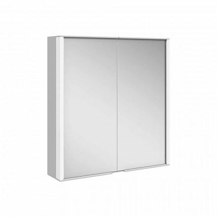 Pasqyrë muri në alumin me ndriçim LED - Demon
