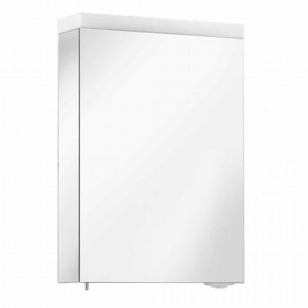 Enë pasqyre me dyer të varura dhe ndriçim LED, me cilësi të lartë - Alfio