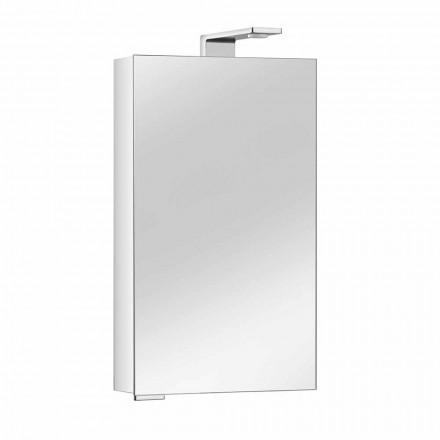 Dollap pasqyre me dyer kristali dhe detaje kromi, modern - Maxi
