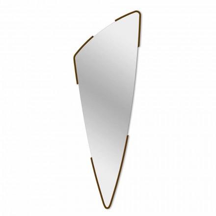 Pasqyrë dekorative Dizajn modern në 4 ngjyra të bëra në Itali - Spino