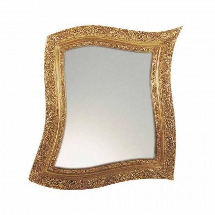 Pasqyra e murit të stilit barok në arin e hekurit dhe argjendin e bërë në Itali - Rudi