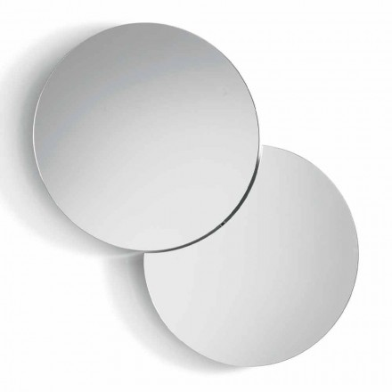 Pasqyrë e murit të rrumbullakët me Satelit që kthehet në një 360 ° të plotë në Itali - Shaki