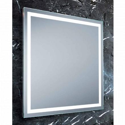 Pasqyrë banjo LED Paco, dizajn modern