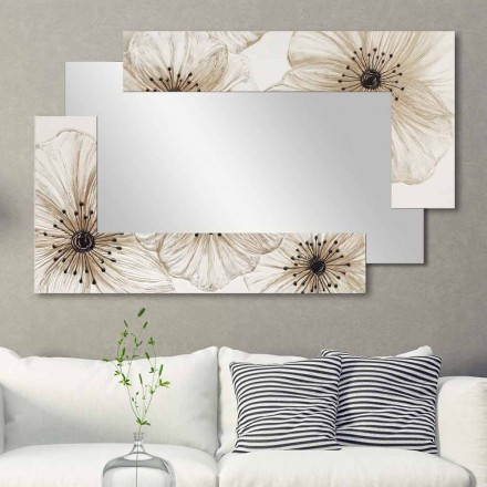 Designer Wall Mirror Sabbiate nga Viadurini Decor