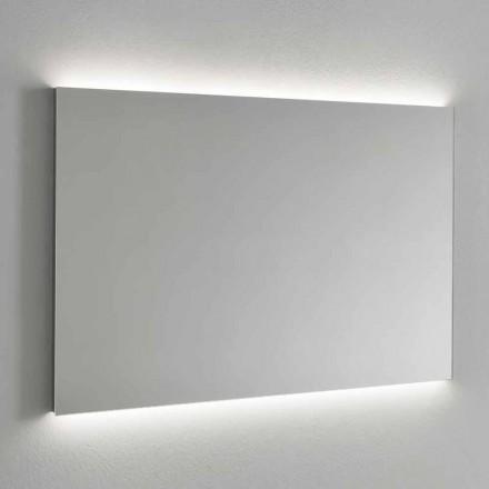 Pasqyrë Muri me Ndriçim LED, Kornizë Çeliku Prodhuar në Itali - Tundra