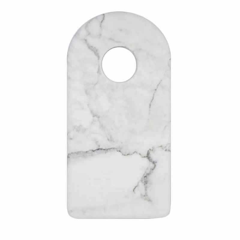 Bordi Prerës i Mermerit Modern Carrara Modern Bardhë Made in Italy - Amros