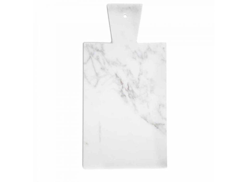 Bordi modern i prerjes në mermer të bardhë Carrara i bërë në Itali - Biblon