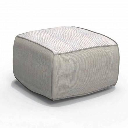 Pouffe në natyrë Sarko nga Talenti, dizajn modern i bërë në Itali