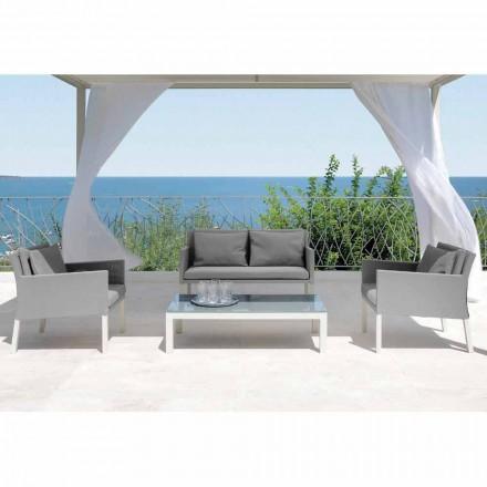 Salla e dhomës së ndenjes e vendosur Hap nga Talenti, dizajni modern i bërë në Itali