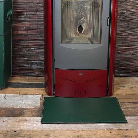 Lëkurë prej lëkure për Fireplace / Sobë Virgilio Made in Italy