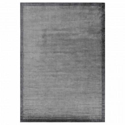 Design Carpet Edged në pambuk dhe Viscose për dhomën e ndenjes - Planetario