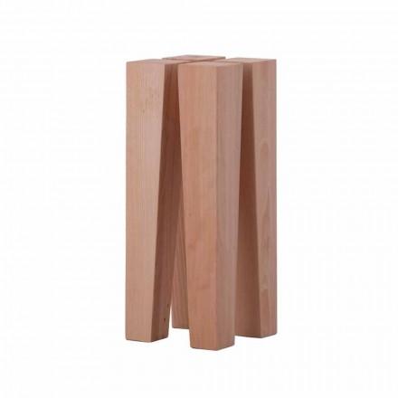 Dizajn modern Tavolina e ulët për kafe në dru ahu - Roncone