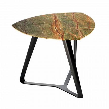 Tavolinë kafeje e punuar me dorë me mermer luksoz të prodhuar në Itali - Royal