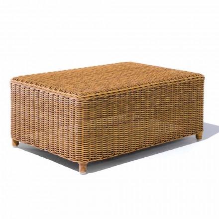 Tavolinë kafeje për kopsht në bastun prej palme kacavjerrëse sintetike - Yves