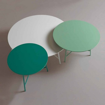 Tavolinë kafeje me stil të rrumbullakët moderne për dhomën e ndenjes - Boogie