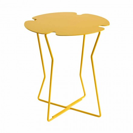 Tavolinë kafeje për dhomën e ndenjes në metal, Projektimi i ngjyrave të ndryshme - Kathrin
