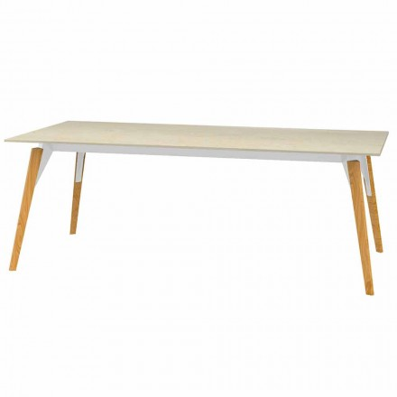 Tavolinë kafeje Efekti mermeri i sipërm, 3 ngjyra 2 madhësi - Faz Wood nga Vondom