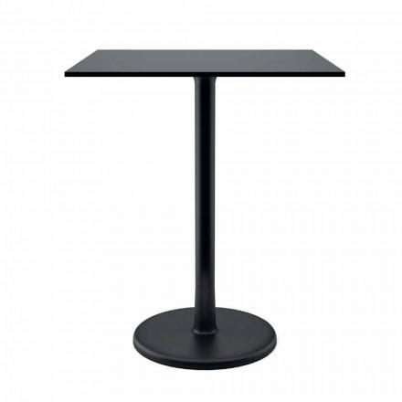 Tavolinë në natyrë në Cast Iron Metal dhe HPL Made in Italy - Burton