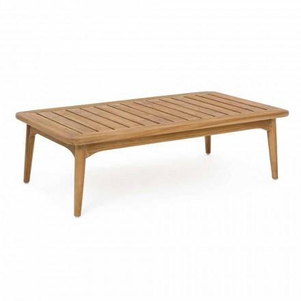 Tabela e jashtme e shtëpisë moderne të drurit të Teakut Homemotion - Luanaedmea