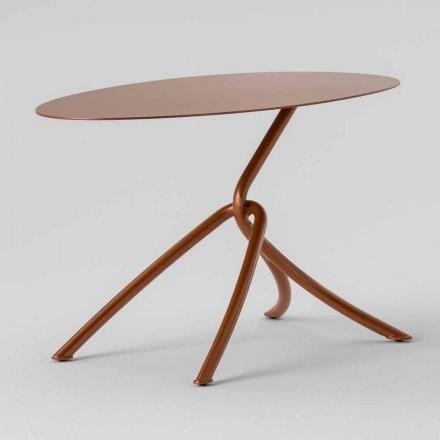 Tavolinë kafeje në natyrë të Çmuar në Metal të Pikturuar Prodhuar në Itali - Lubeck