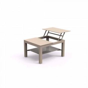 Kopshti i hapjes së tryezave moderne me xham të sheshtë të shtypur me ekran Chic Small