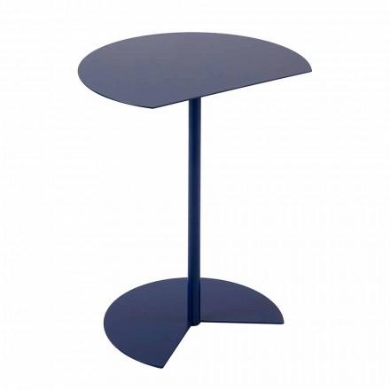 Tavolinë kafeje me kopsht metalik me ngjyra moderne në dizajn modern