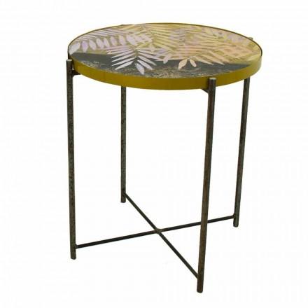 Tavolinë kafeje e Brendshme ose e Jashtme me Strukturë Metalike Prodhuar në Itali - Carim