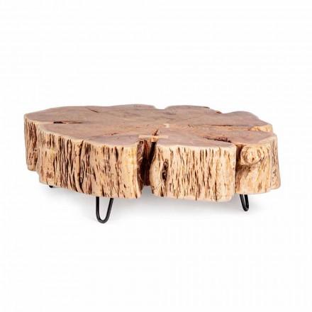 Tavolinë kafeje Homemotion me majë të formuar në dru akacie - Nabucco