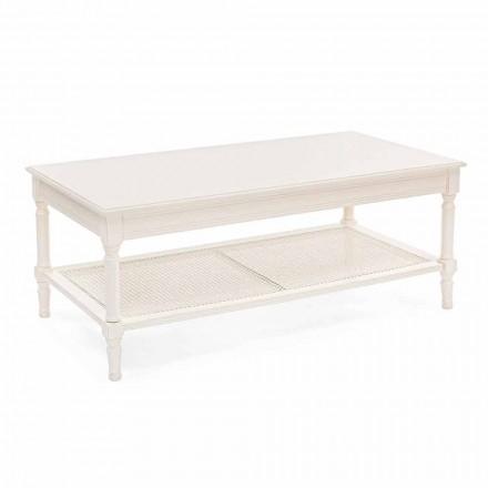 Tavolinë kafeje me Dizajn Klasik në Lëvizje Homemotion prej Druri dhe Bastun prej palme kacavjerrëse - Raino