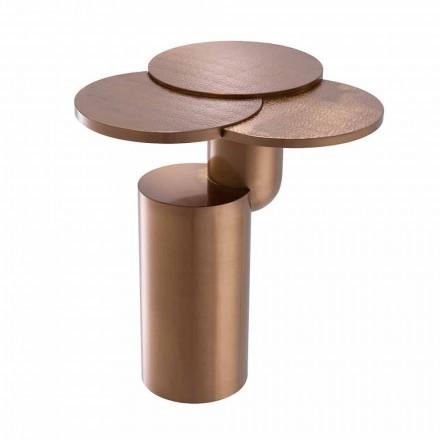 Projektoni tryezë kafeje në çelik të përfunduar të bakrit - Olbia