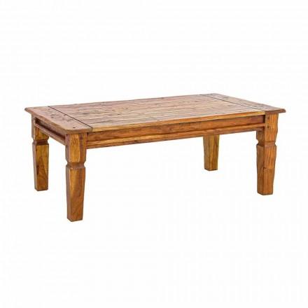 Solid tryezë kafeje prej druri Acacia Dizajn Klasik Homemotion - Remo
